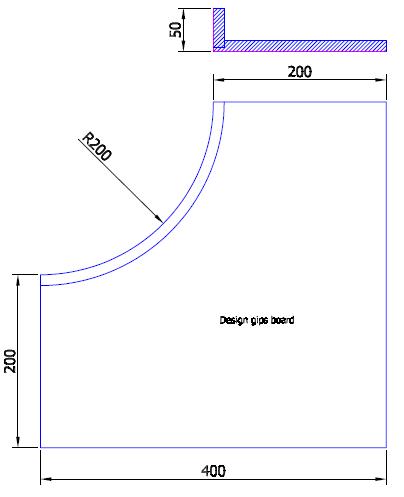 Roh vnitřní 50 mm sádrokarton